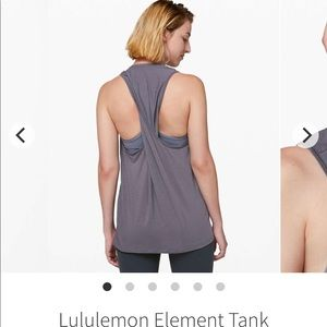 Lululemon element tank